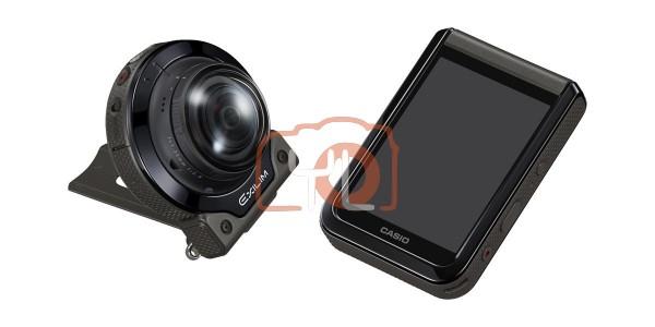 Casio EX-FR200 Digital Camera (Black)