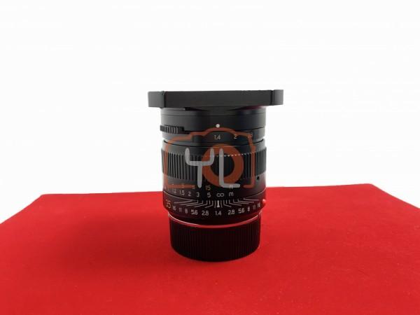 [USED-PJ33] TT artisan 35mm F1.4 (Leica M Mount), 85% Like New Condition (S/N:6351423)