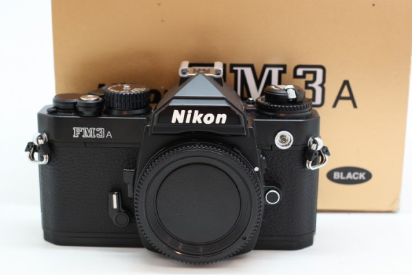 [USED-PUDU] NIKON FM3A FILM CAMERA (BLACK) 90%LIKE NEW CONDITION SN:248121