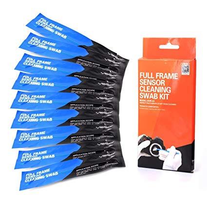 VSGO DDR23 DSLR or SLR Camera Full-Frame Sensor Cleaning Kit (10 X 24mm Sensor Cleaning Swabs)