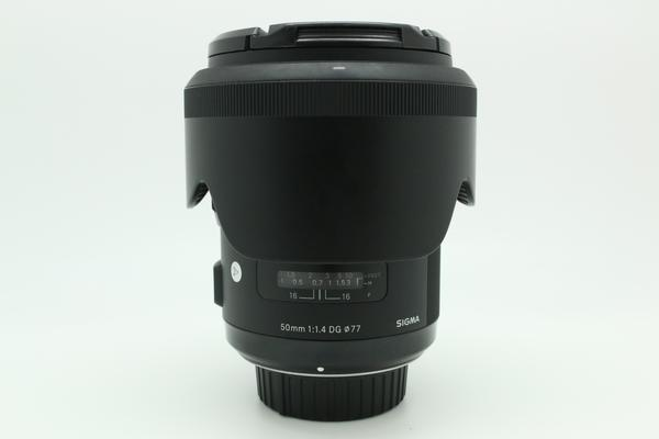 (USED-LOWYAT) SIGMA 50MM F1.4 DG HSM ART LENS FOR NIKON,90% LIKE NEW,S/N:50873461