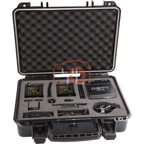 Deity Microphones Connect Deluxe Kit 2-Person Wireless Omni Lavalier Microphone System with Back-Up Recording (2.4 GHz)