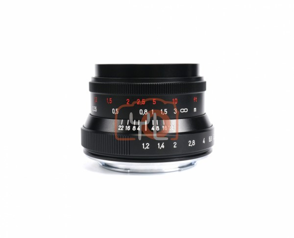 7artisans 35mm F1.2 Mark II for Canon EOS-M (Black)