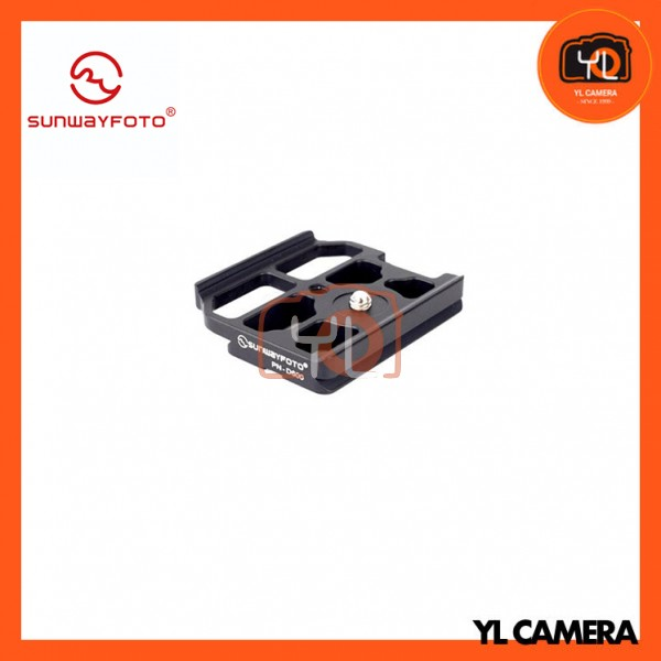 SunwayFoto PN-D600 Custom Quick Release Plate for Nikon D600 Body