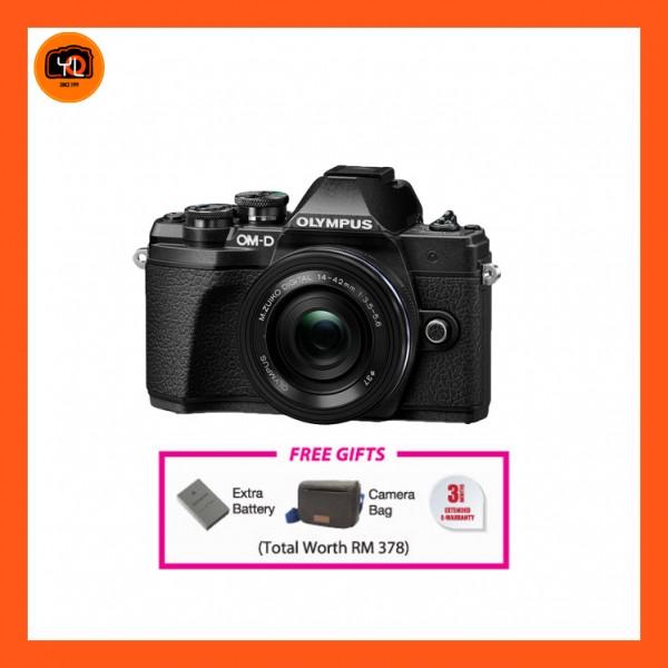 (Promotion) Olympus OM-D E-M10 Mark III + M.Zuiko 14-42mm EZ (Black) [Free Lexar 32GB 95MB SD Card + Benro ELZ10 Camera Bag]