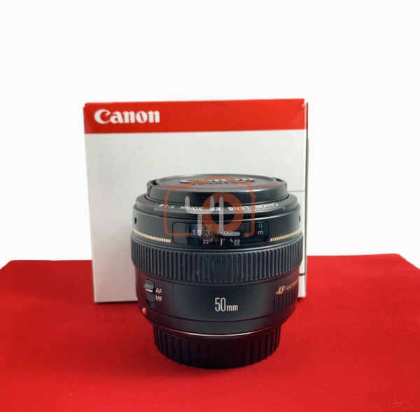 [USED-PJ33] Canon 50mm F1.4 USM EF, 90% Like New Condition (S/N:78385934)