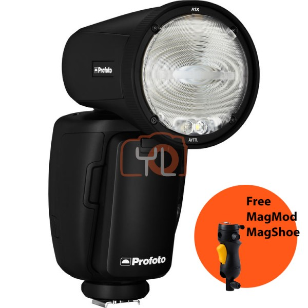 Profoto A1X AirTTL-C Remote and On-camera Flash (Canon) 901204 W/ MagShoe