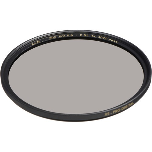 B+W 62mm XS-Pro MRC-Nano 802 ND 0.6 Filter (2-Stop)