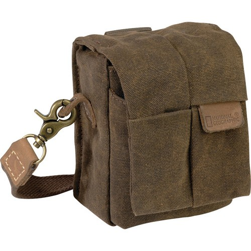 National Geographic NG A1212 Africa Series Vertical Camera Pouch (Brown)