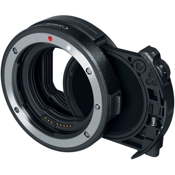 (Pre-Order) Canon Variable ND Drop-In Filter Mount EF - EOS R Lens Mount Adapter For Canon RF