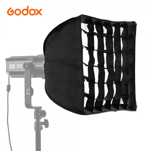 Godox SA-30 Softbox Grid 30cmX30cm for Godox S30 Focusing LED Video Light