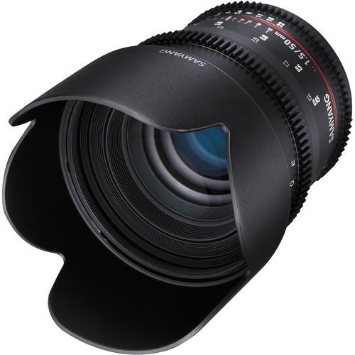 Samyang 50mm T1.5 VDSLR AS UMC Lens for Olympus Four-Thirds