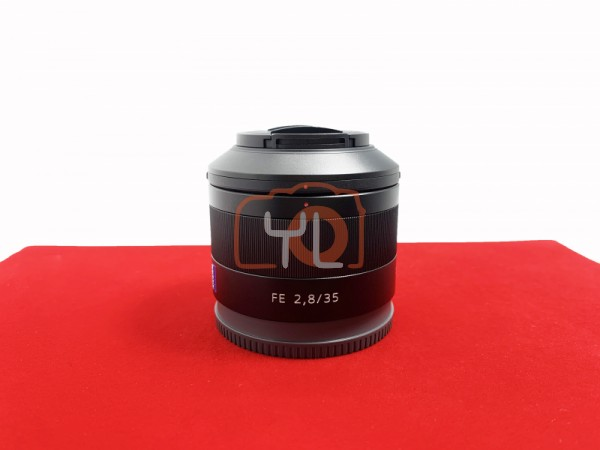 [USED-PJ33] Sony 35mm F2.8 ZA FE Lens,95% Like New Condition (S/N:1916964)