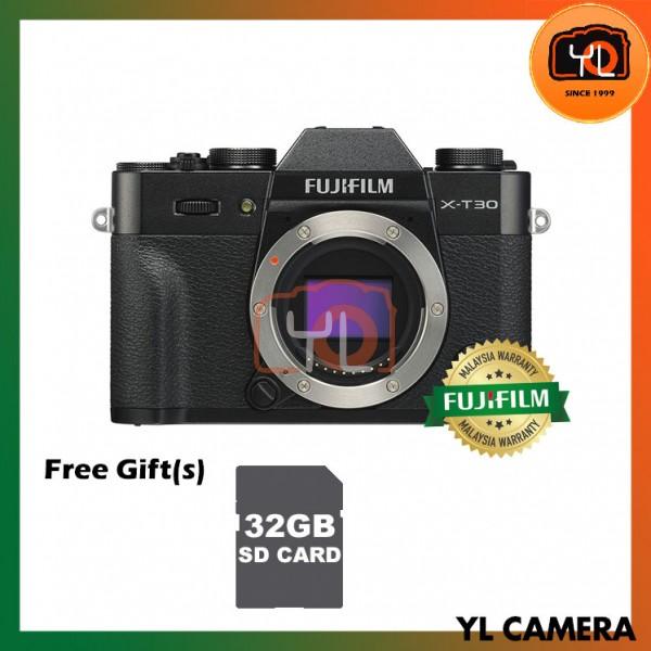 Fujifilm X-T30 (Black) [Free 32GB SD Card]
