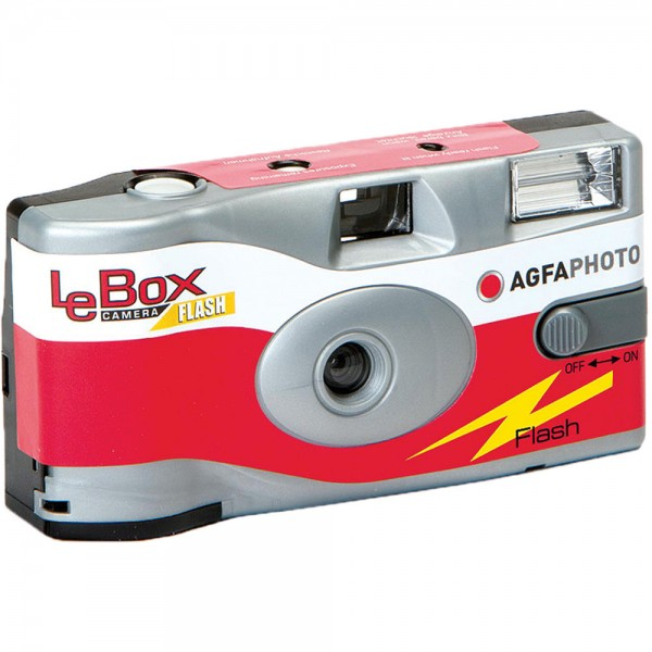 AgfaPhoto LeBox Flash Disposable Cameras