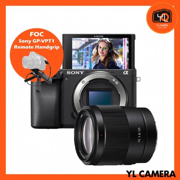 (Promotion) Sony a6400 (Black) + FE 35mm F1.8 [Free Sony 64GB SD Card + Lexar 64GB SD Card]