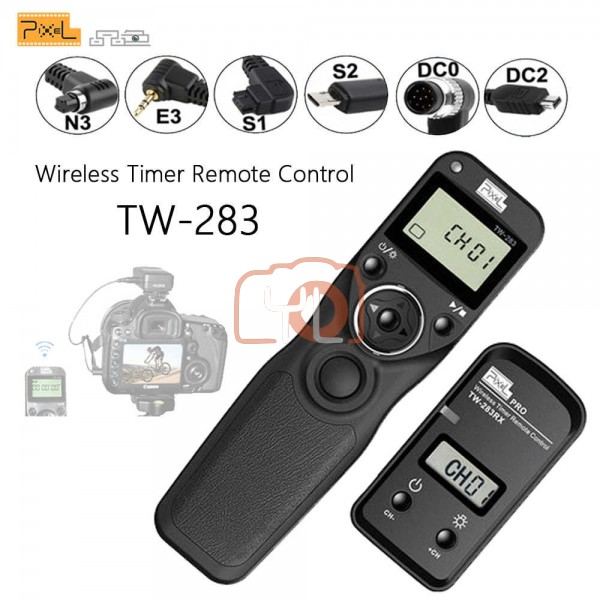 Pixel TW-283 Wireless Timer Remote Control For Canon