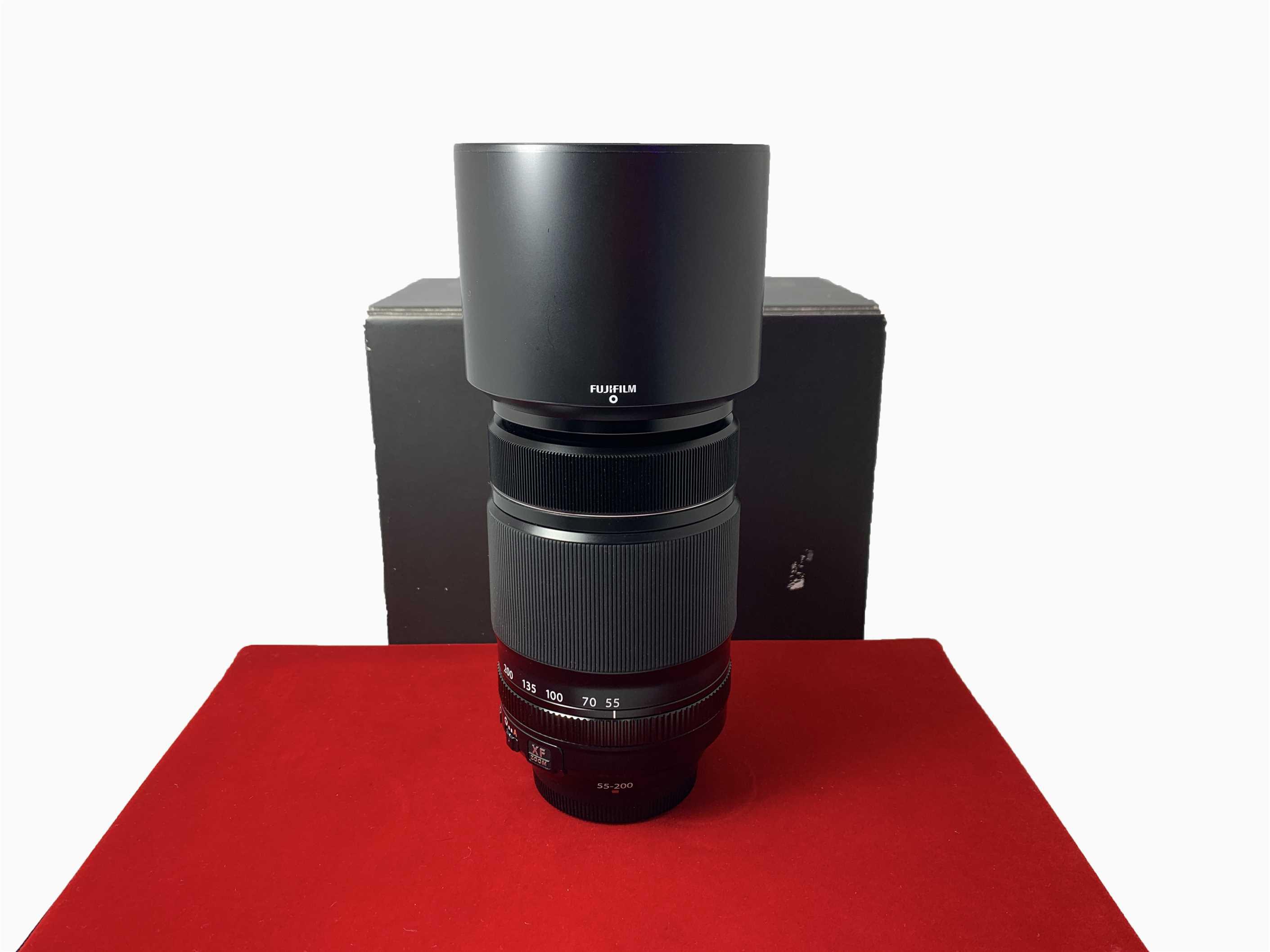 [USED-PJ33] Fujifilm 55-200mm F3.5-4.8 R LM OIS XF Lens,95% Like New Condition (S/N:38A00954)