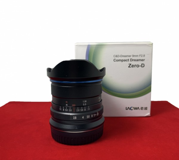 [USED-PJ33] Laowa 9MM F2.8 ZERO-D (Fuji X), 85% Like New Condition (S/N:006034)