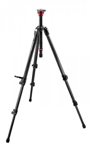 Manfrotto 755CX3 MagFibre Video Tripod Legs with Rapid Center Column