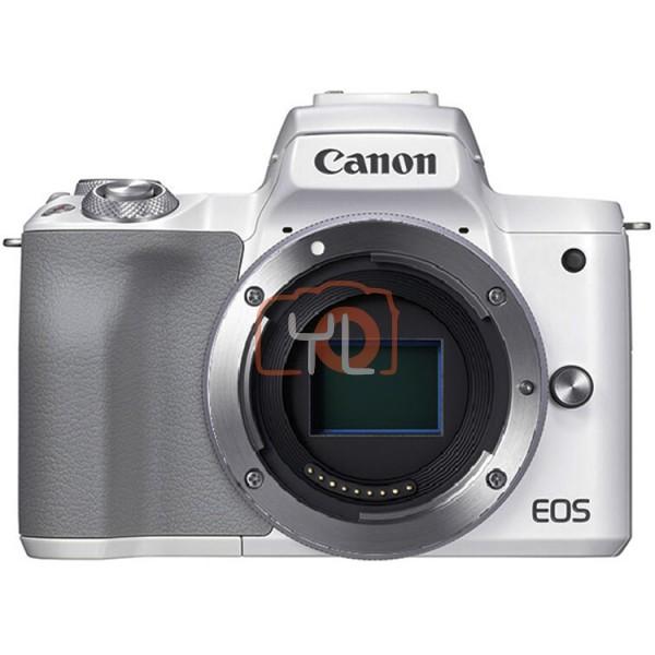 Canon EOS M50 Mark II - White (Free 32GB SD Card + Camera Bag)