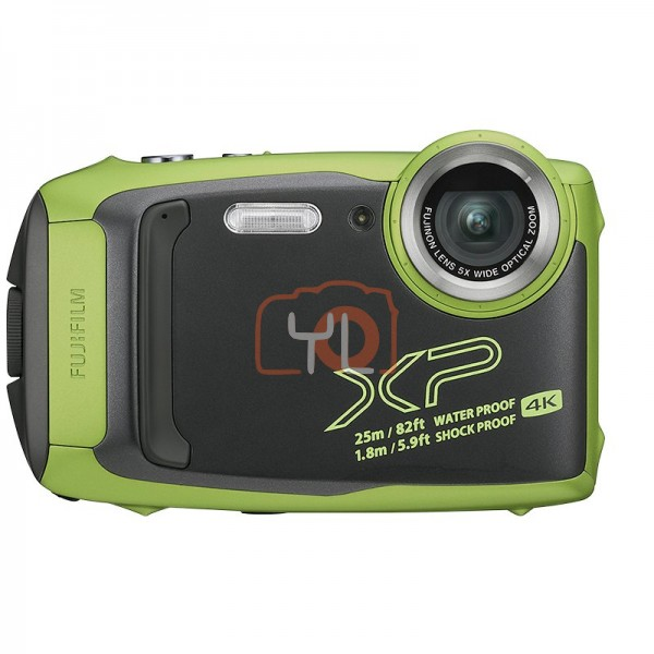 Fujifilm FinePix XP140 Digital Camera - Lime Green (Free 32GB SD Card)
