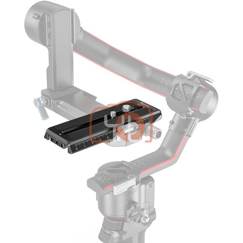 SmallRig 3158 Manfrotto-Style Quick Release Plate for DJI RS 2/RSC 2/Ronin-S Gimbal