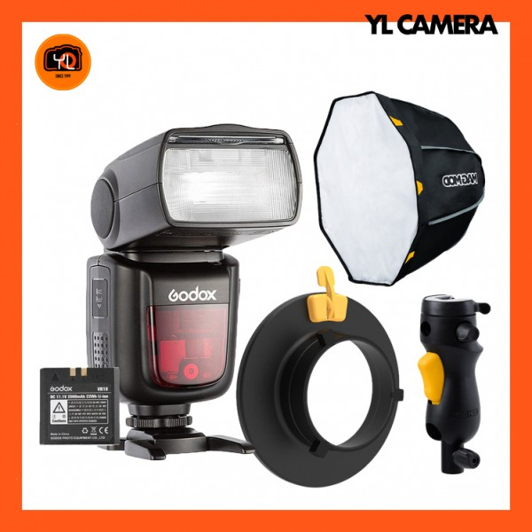 Godox V860II TTL Flash W/ MagBox CUSTOM Kit for Bowens