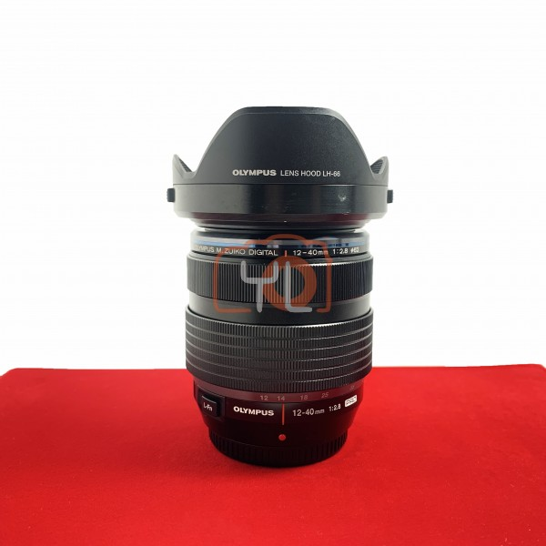[USED-PJ33] Olympus 12-40mm F2.8 PRO M.Zuiko,85% Like New Condition (S/N:AC5202900)