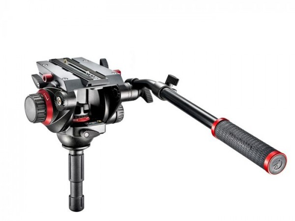 Manfrotto 504 Fluid Video Head with 75 mm half ball