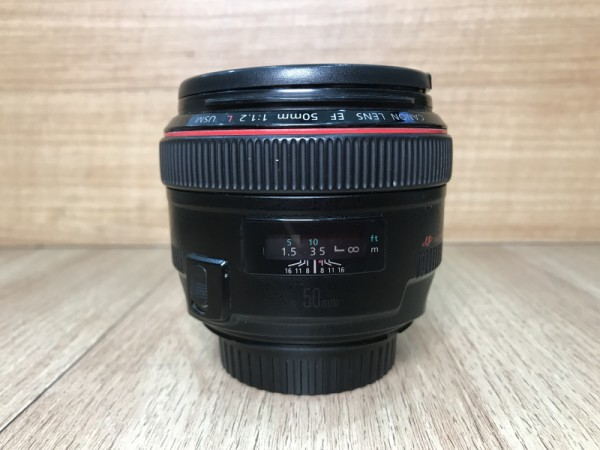 [USED YL LOW YAT]-Canon EF 50mm F1.2 L USM Lens,90% Condition Like New,S/N:1947187