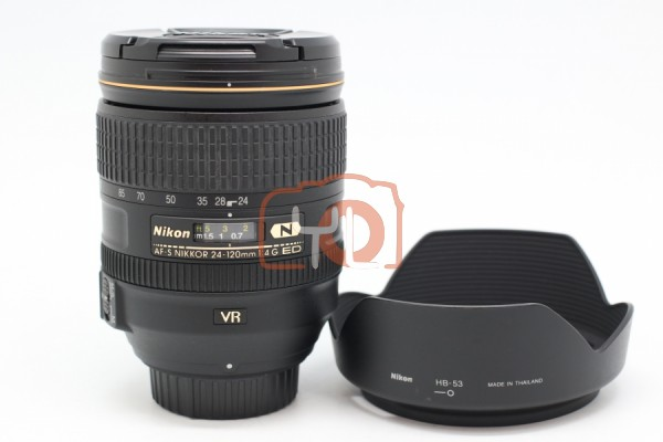 [USED-PUDU] Nikon 24-120mm F4G AFS VR Lens 95%LIKE NEW CONDITION SN:62004016