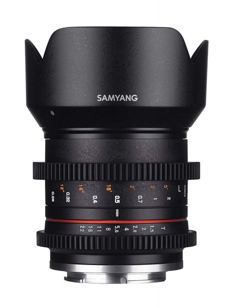 Samyang 21mm T1.5 Compact High-Speed Cine Lens for Fujifilm X