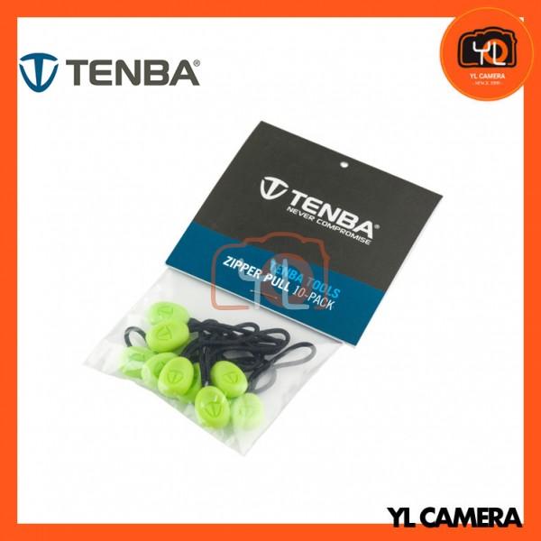 Tenba Tools Zipper Pulls, Pack of 10 (Lime)