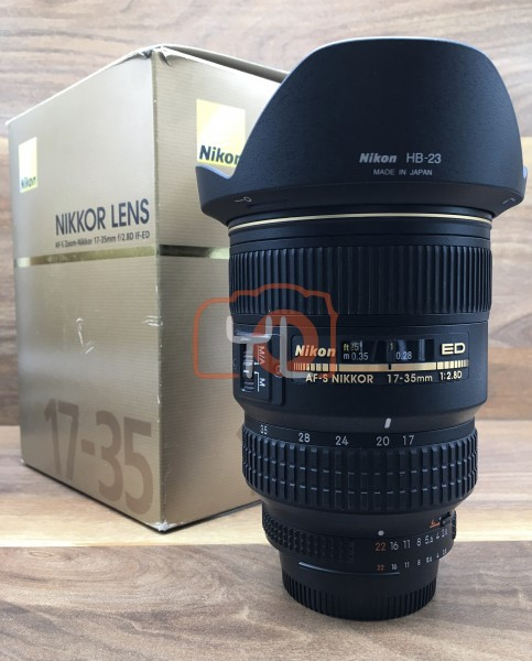 [USED @ YL LOW YAT]-Nikon AF-S 17-35mm F/2.8D ED Lens,95% Condition Like New,S/N:422305