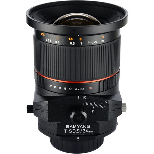 Samyang 24mm F3.5 ED AS UMC Tilt-Shift Lens for Micro Four Thirds Mount