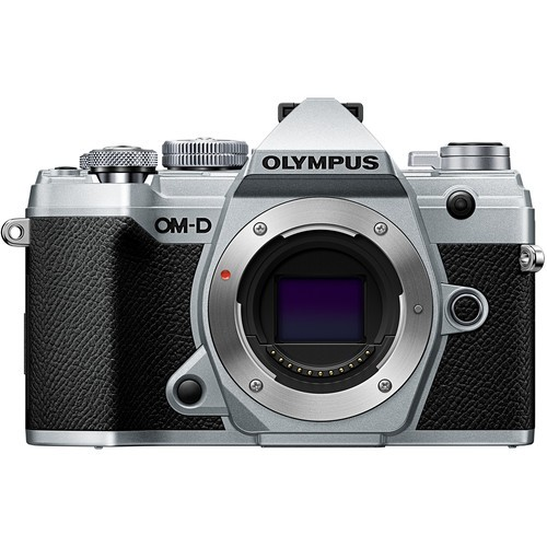 Olympus OM-D E-M5 Mark III W/ 12-40mm F2.8 PRO Lens - Silver [Online Redemption Extra Battery + 32GB SD Card UHS-II + Olympus Bag]