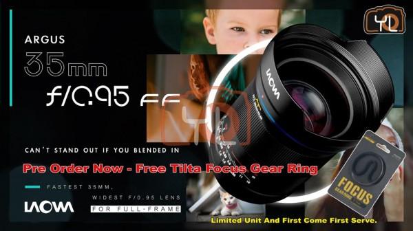Laowa Argus 35mm f/0.95 FF Nikon Z