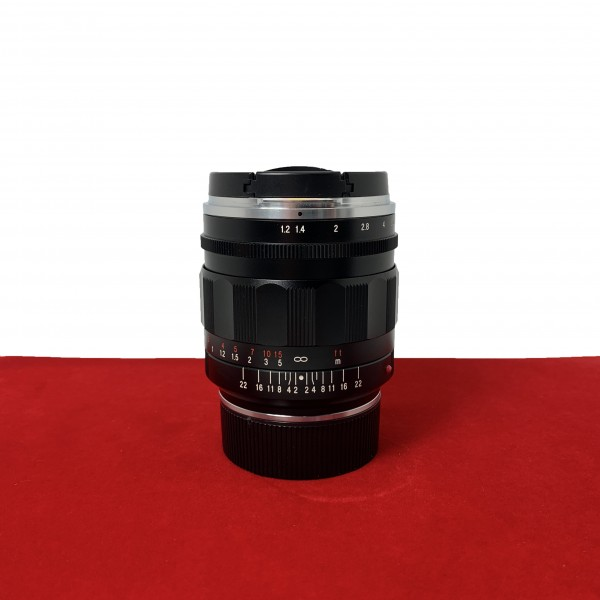 [USED-PJ33] Voigtlander 35MM F1.2 II Nokton ASPH VM (Leica M Mount), 95% Like New Condition (S/N:8220036)