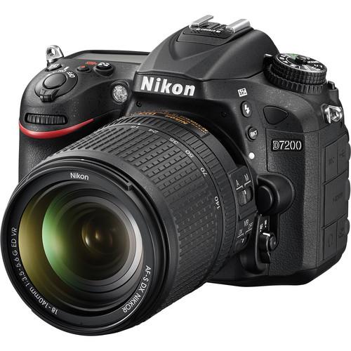 Nikon D7200 + 18-140mm F3.5-5.6G AF-S DX ED VR Lens