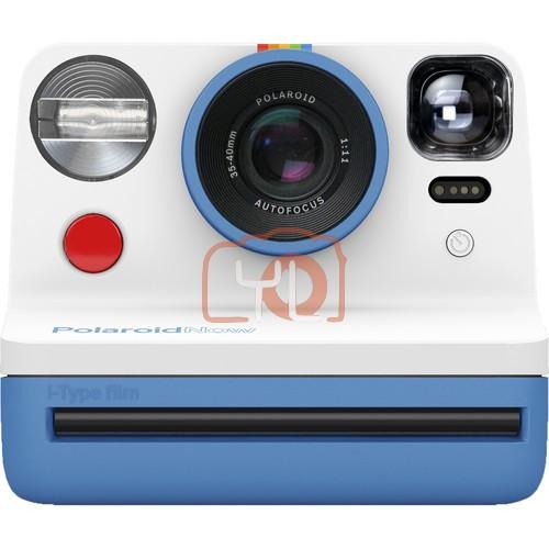 Polaroid Now Instant Film Camera (Blue)