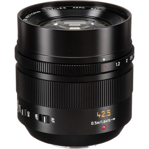 Panasonic Leica 42.5mm F1.2 DG Nocticron ASPH. POWER OIS (H-NS043E)