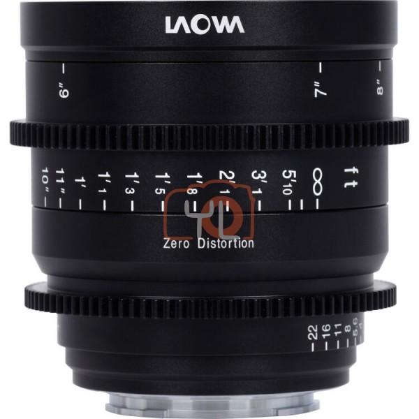 Laowa 15mm T2.1 Zero-D Cine Lens (Feet - Sony E-Mount)