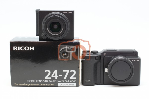 [USED-PUDU] Ricoh GXR A12 M Mount +GXR 24-72mm F2.5-4.4 VC 95%LIKE NEW CONDITION SN:05100940