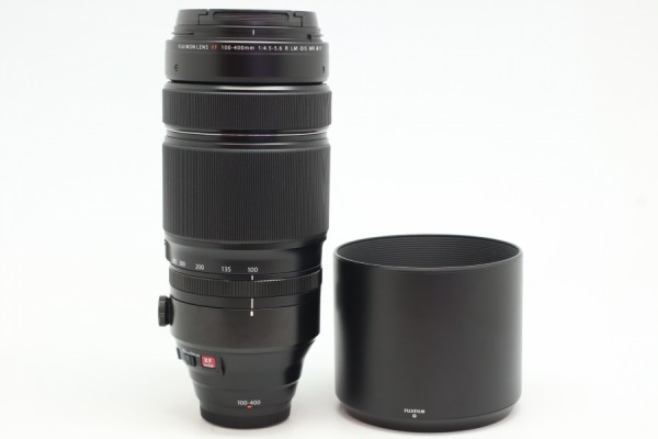 [USED-PJ33] FUJIFILM 100-400MM F4.5-5.6 R LM OIS WR LENS, 90%LIKE NEW CONDITION (S/N:66A00525)