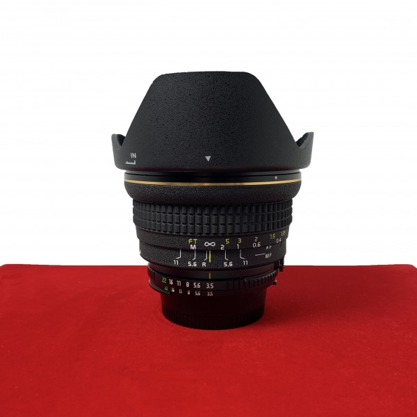 [USED-PJ33] Tokina 17MM F3.5 ATX-PRO (Nikon), 90% Like New Condition (S/N:6303889)
