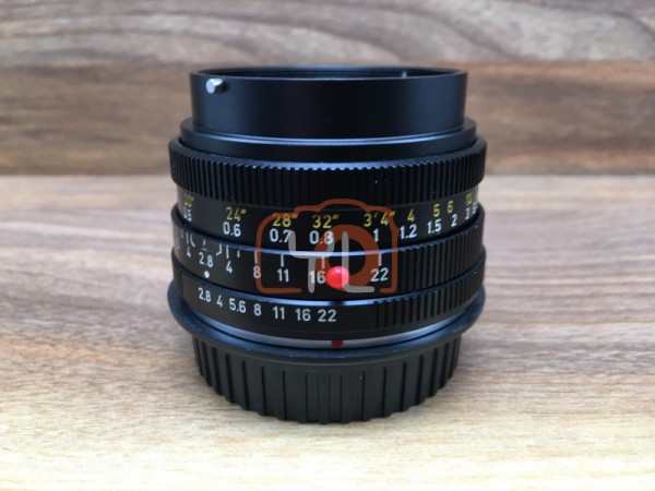 [USED @ YL LOW YAT]-Leica 28mm F2.8 ELMARIT-R Mount Lens,90% Condition Like New,S/N:2874939