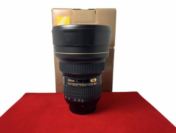 [USED-PJ33] Nikon 14-24mm F2.8G AFS ED Nano Lens, 95% Like New Condition (S/N:445587)