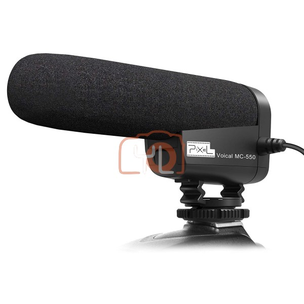 Pixel MC-550 Voical Pro Microphone for DSLR/Camcorder