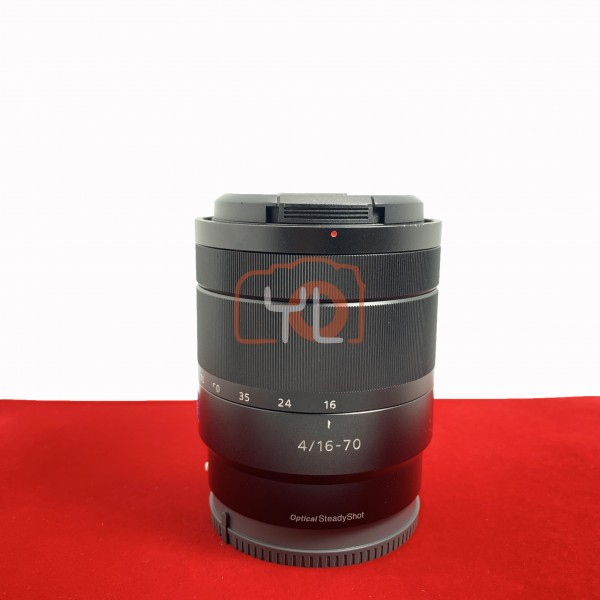 [USED-PJ33] SONY 16-70mm F4 ZA OSS E-MOUNT , 85%Like New Condition (S/N:1902541)